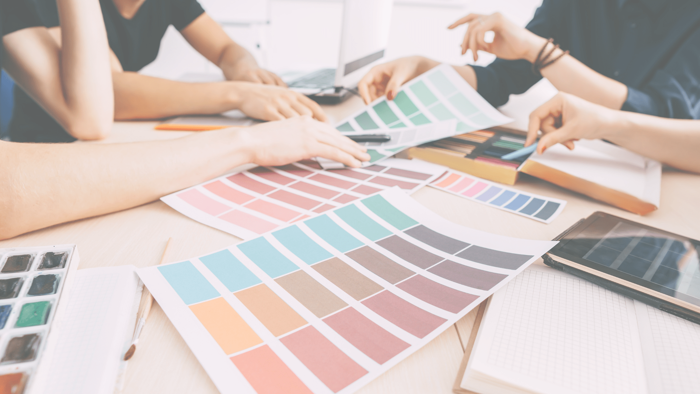 Graphic Design Team meeting