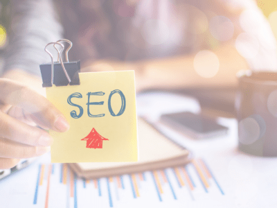 SEO Consultant Working on SEO strategy