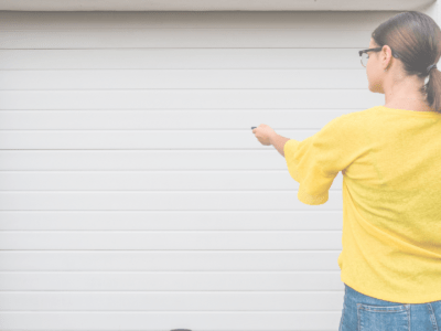 Replacing garage door